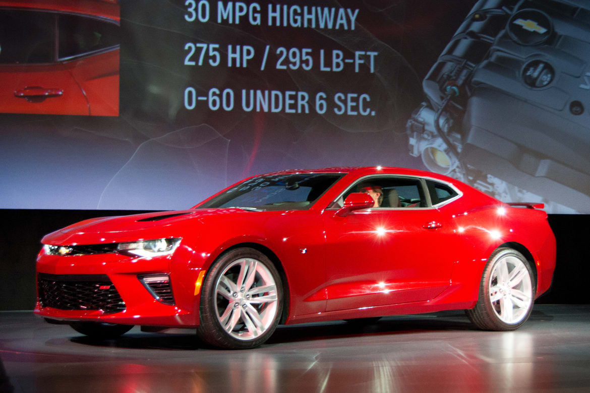 2016 chevy camaro 2ss owners manual