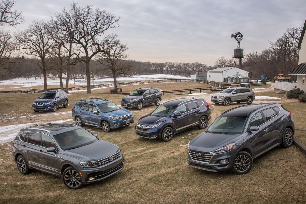 Best Midsize Suv Towing >> What S The Best Compact Suv Of 2019 News Cars Com