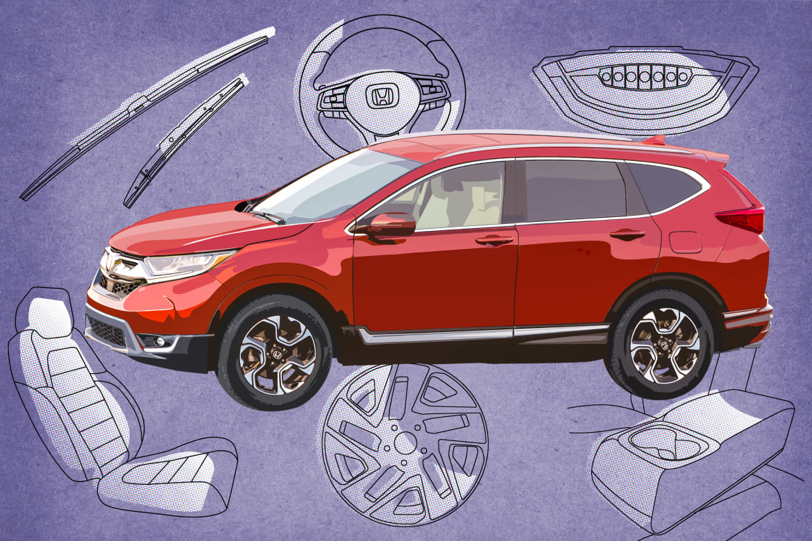 2019 Honda CR-V features that change by trim level