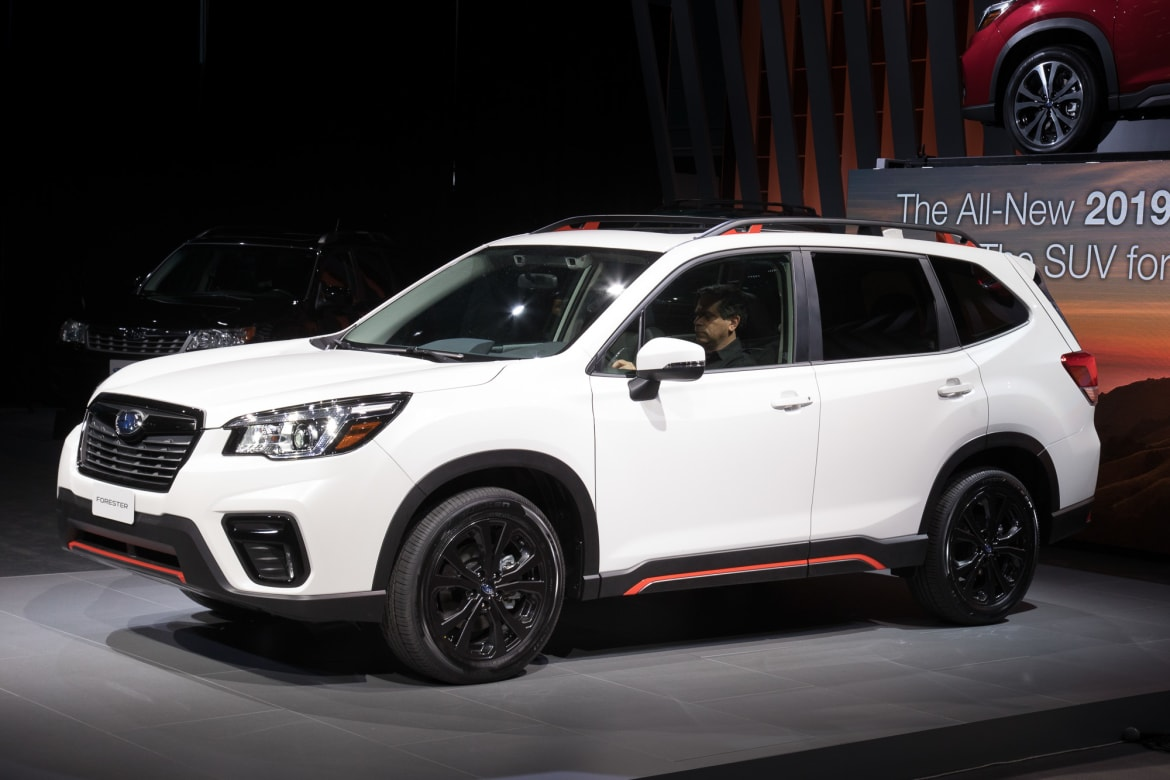 2019 Subaru Forester Commands More Green Prices Start At 25 270