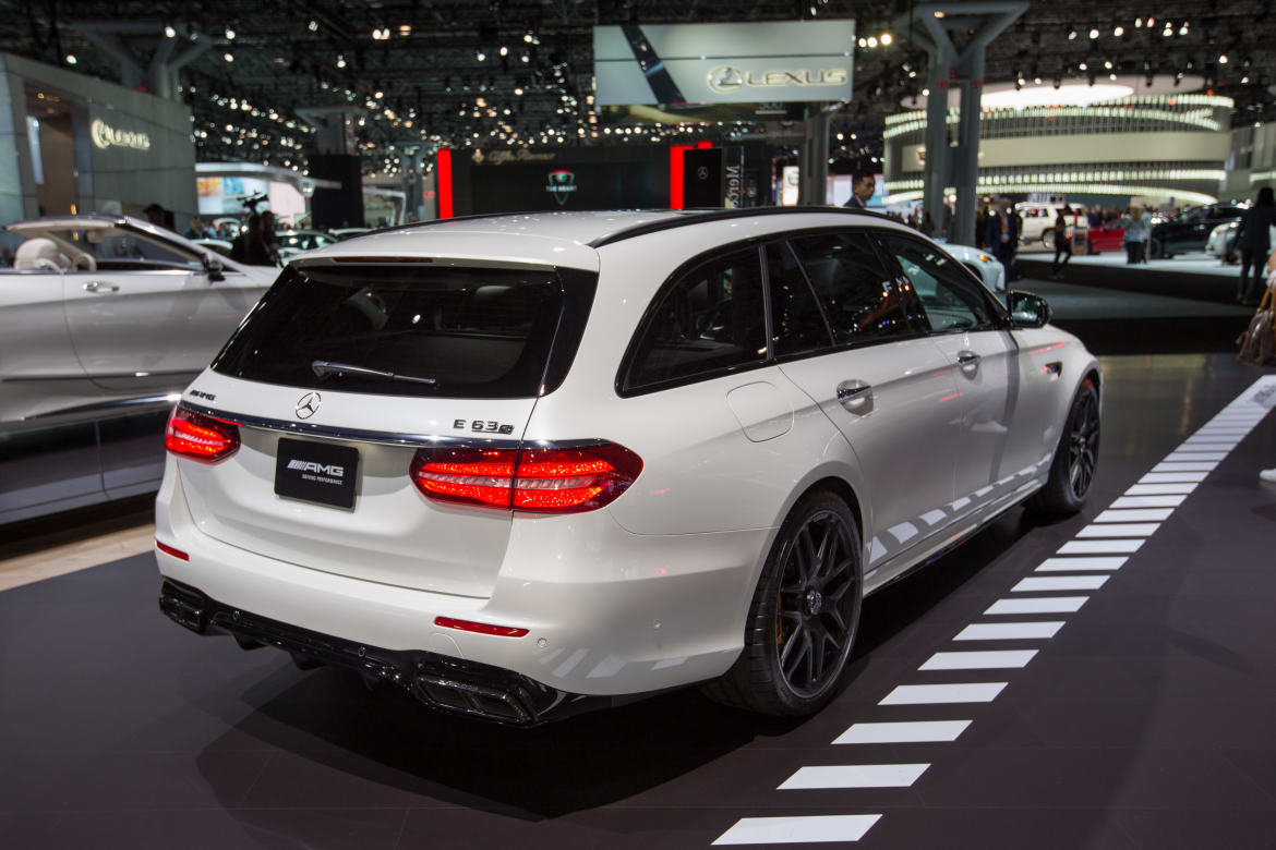 2018 Mercedes Amg E63 S Wagon First Impressions And Photo Gallery