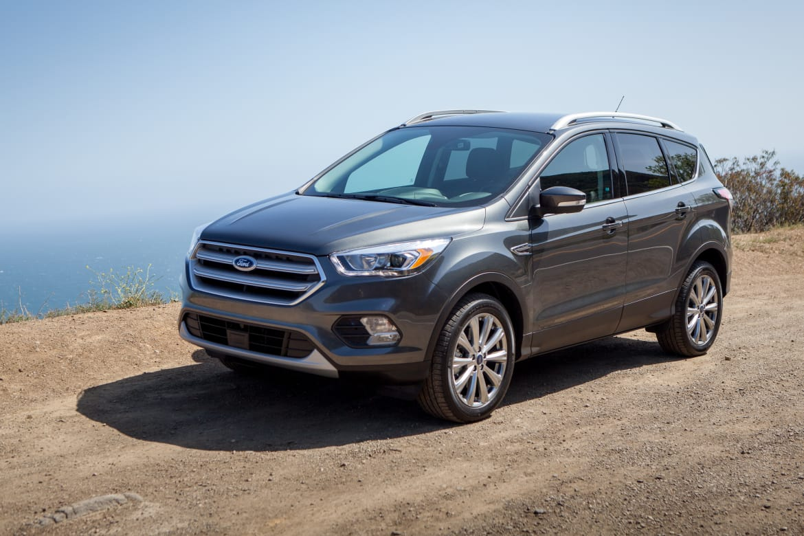 2017 Ford Escape First Drive News Cars Com