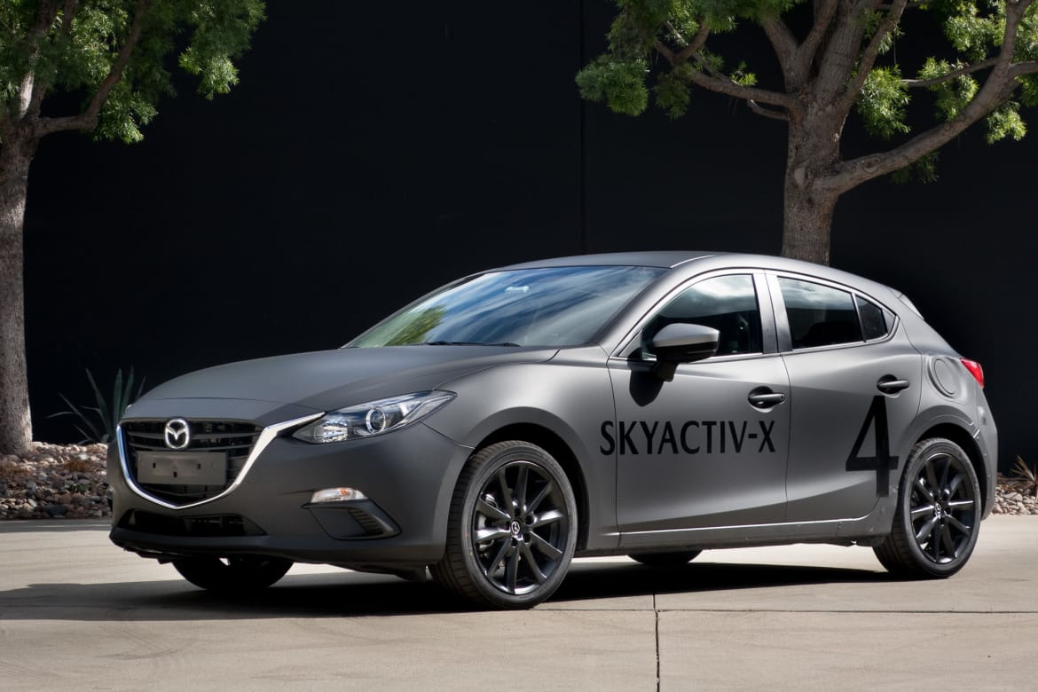 What Is Skyactiv Mazda >> Mazda Skyactiv X Prototype Exciting Tech For An Ordinary