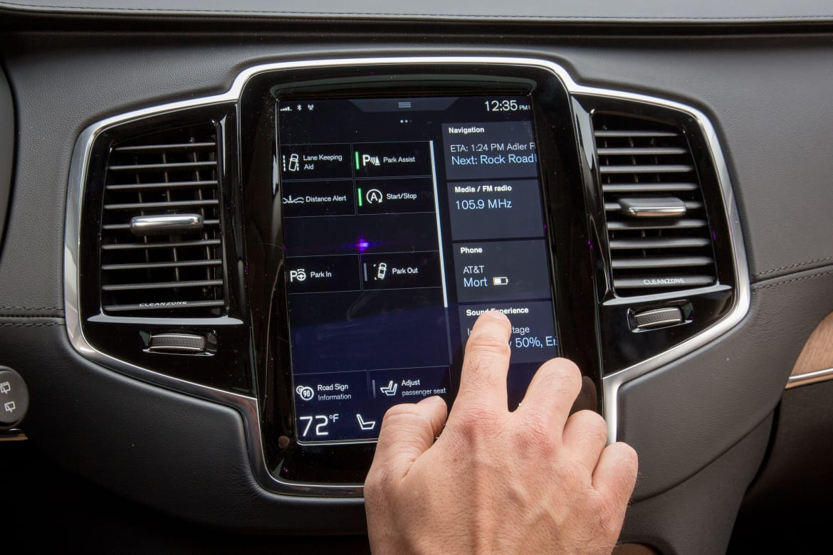 Our Volvo XC90's Touchscreen Takes Its Swede Time   News