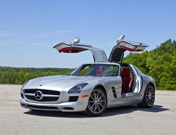 Our view: 2012 Mercedes-Benz SLS AMG