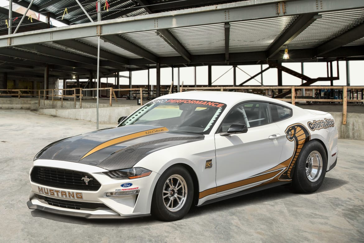 Demon Who? Ford Unveils Latest Mustang Cobra Jet Factory Dragster