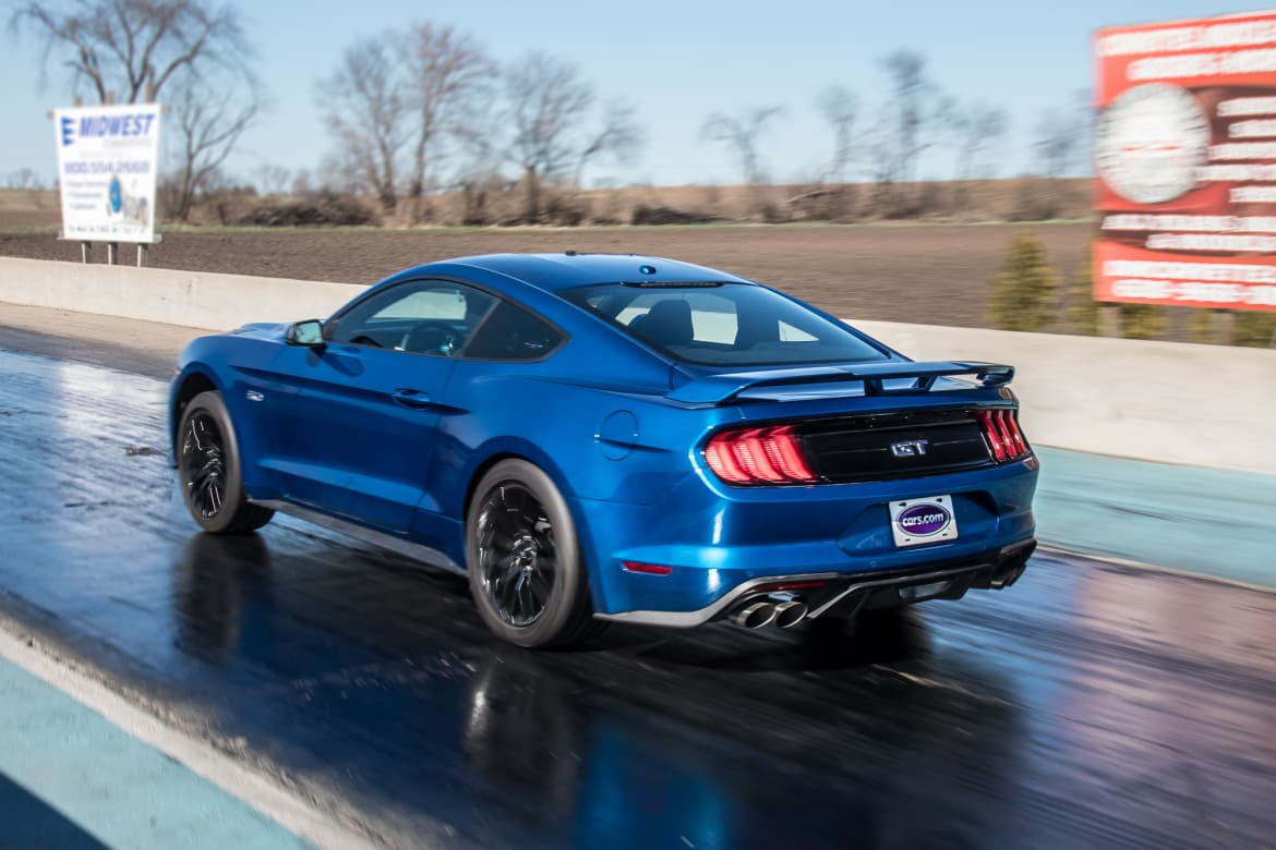05 ford mustang gt 2018 blue drag strip