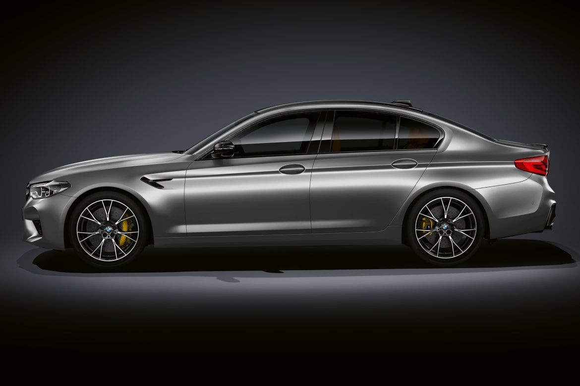 Bmw M5 Competition Adds A Little More Power For A Lot More Dollars