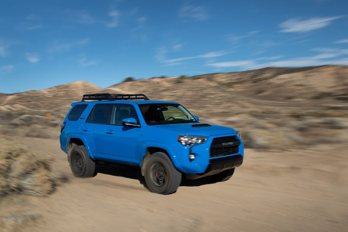 2019 Toyota 4Runner TRD Pro Gallery: Old-School Appeal