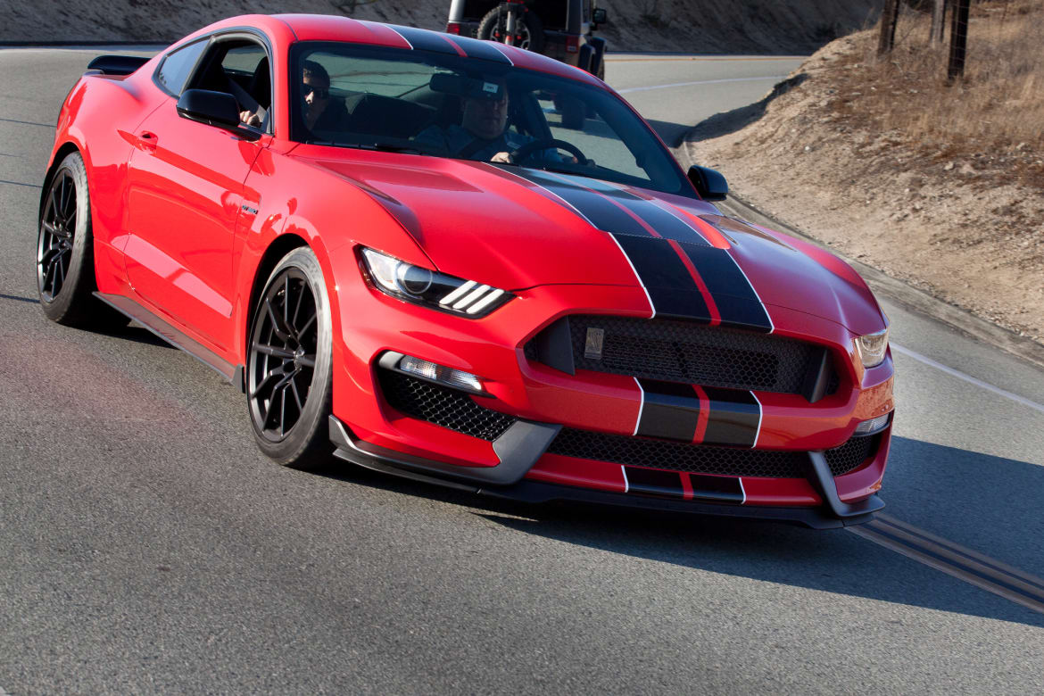 2016 ford mustang shelby gt350 first drive news cars com