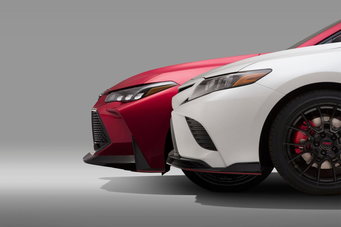 50183b294d Next Up for Toyota's Racy TRD Treatment Are the ... Avalon and Camry ...