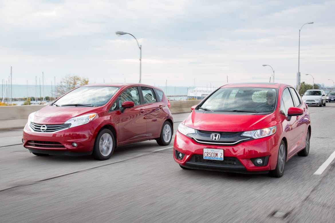 Subcompact Hatchback Head-to-Head: Honda Fit and Nissan Versa Note