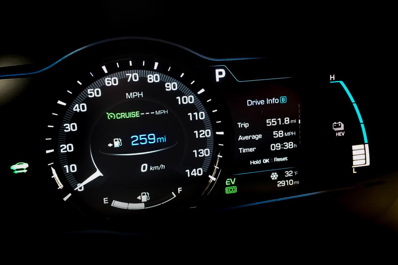 2018 Hyundai Ioniq Plug-In Hybrid: Real-World Fuel Economy