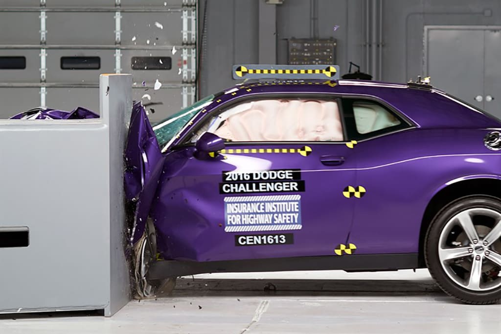 Muscle Cars Prove Not So Tough in IIHS Crash Tests