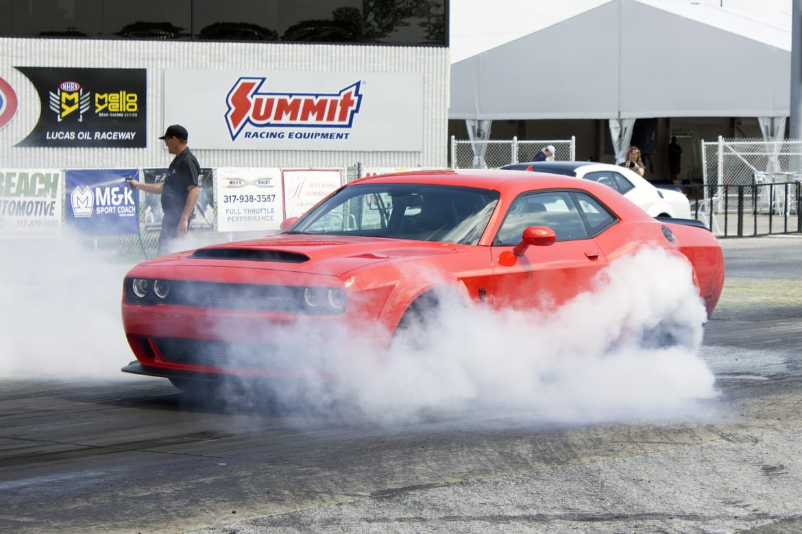 Yep, Your Dodge Demon Has Cruise Control, But Get This Fix Before Using It