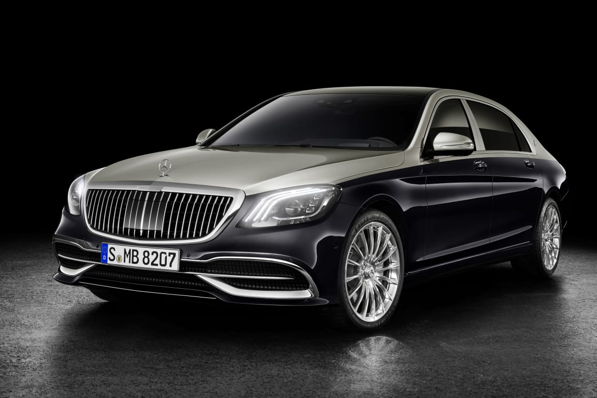 Mercedes-Maybach Spiffs Up Its Luxury Land Yachts for the 1 Percent