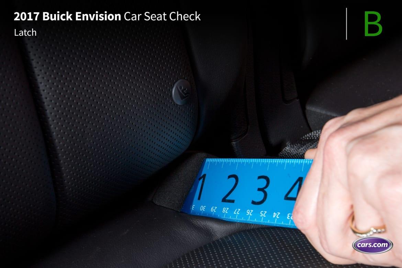 2017 Buick Envision: Car Seat Check   News   Cars com