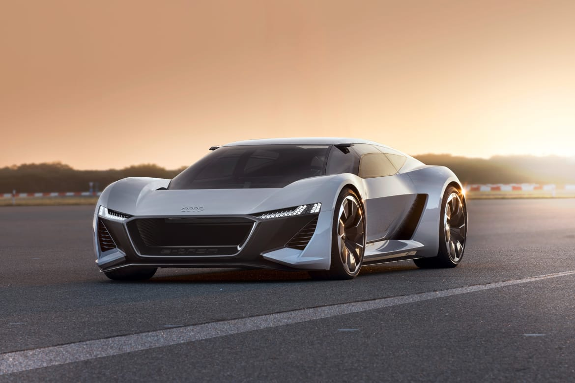Audi PB 18 e-tron Concept Beautifully Toes Line Between