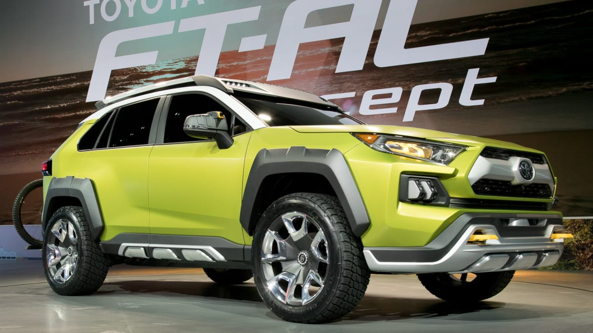 Used Toyota Rav4 For Sale >> Is Toyota FT-AC Concept in L.A. a Future RAV4? | News ...