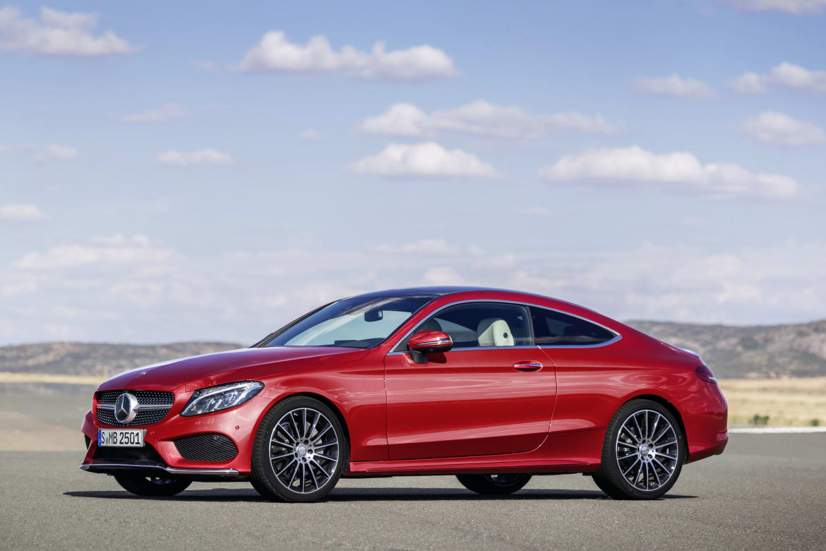 Mercedes C Class Coupe >> 2017 Mercedes Benz C Class Coupe First Look 28 Photos