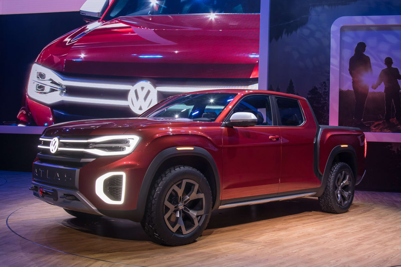 Volkswagen Atlas Tanoak Photo Gallery A Vw Pickup For The