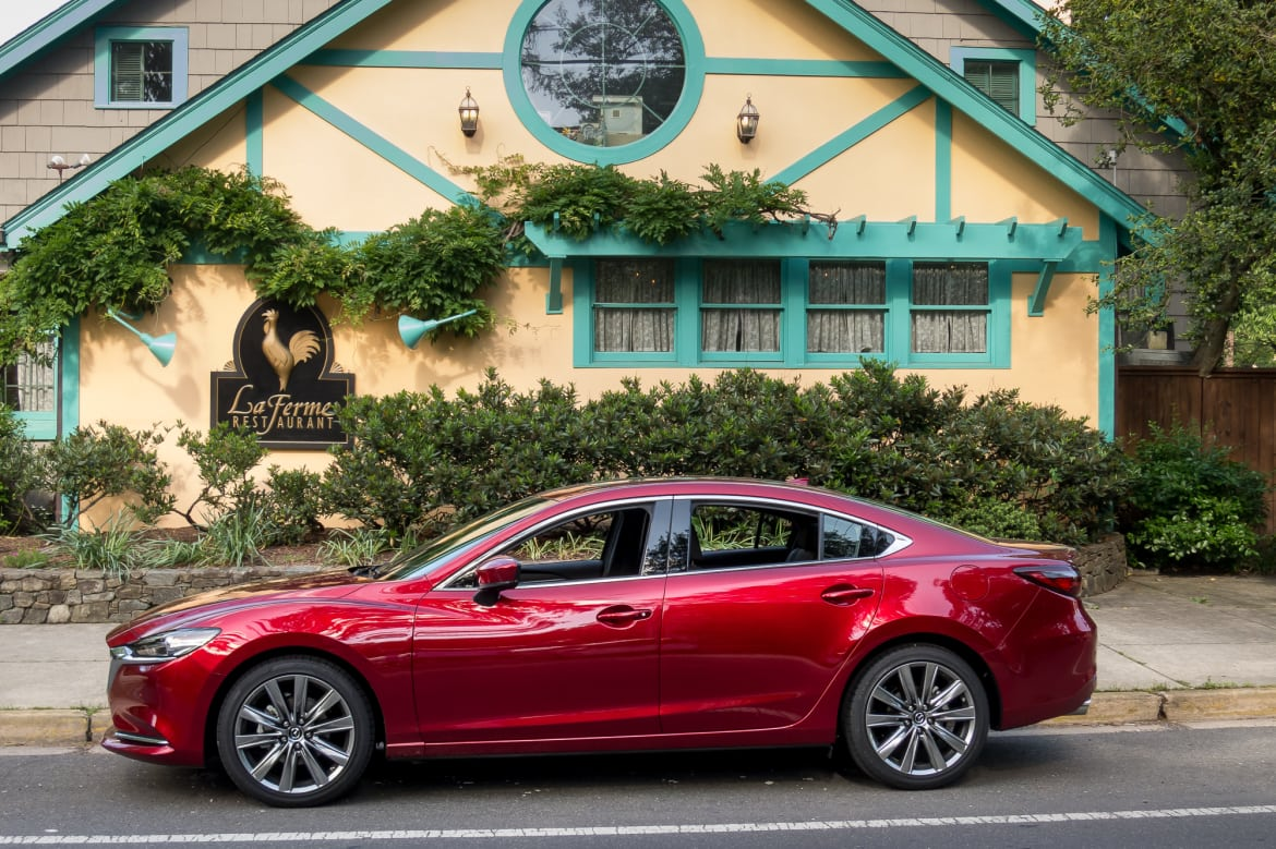 2018 Mazda6 Signature 2 5t First Drive Premium Without The Status
