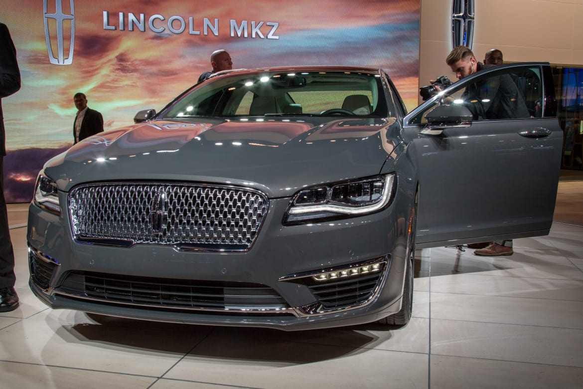 2018 Lincoln Mkz Black Label