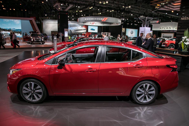 2020 Nissan Versa A Small Car With Big Room News Cars Com
