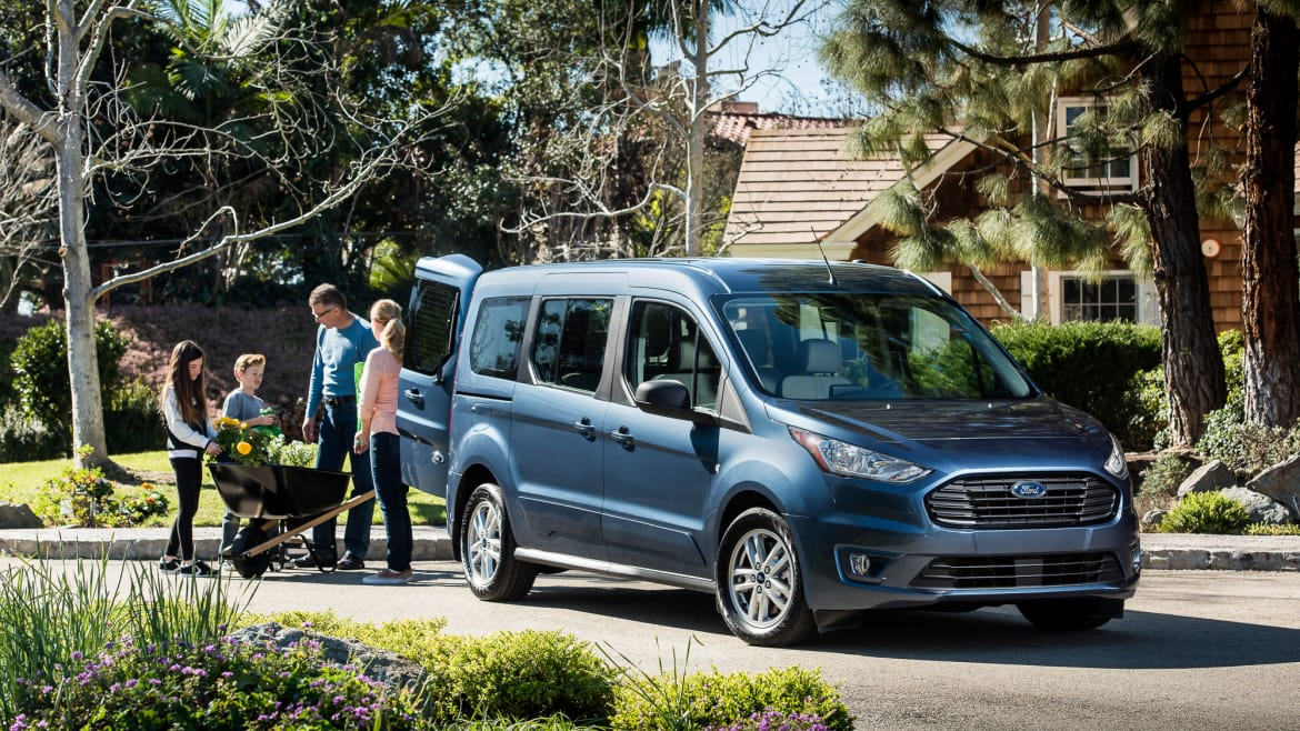 2019 Ford Transit Connect Wagon A Minivan For Surfing Grandparents