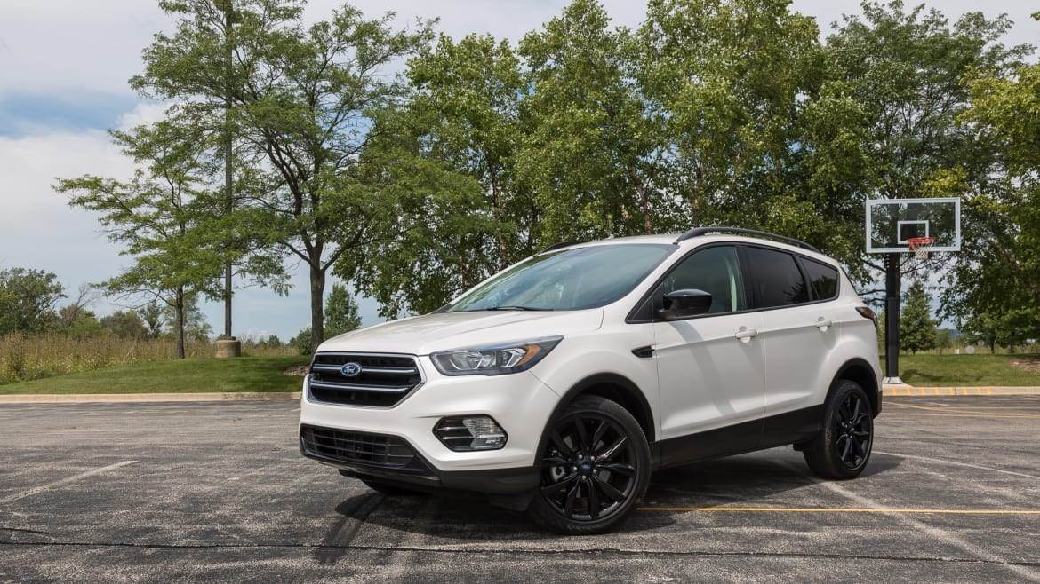 2017 Jeep Compass For Sale >> 2017 Ford Escape: Real-World Cargo Space | News | Cars.com