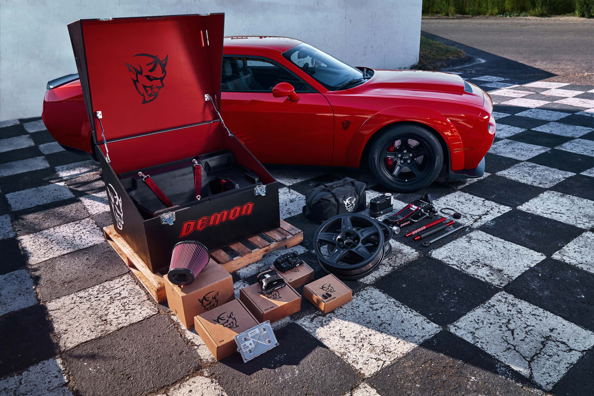 2018 Dodge Challenger Demon Costs A Hell Of A Lot News