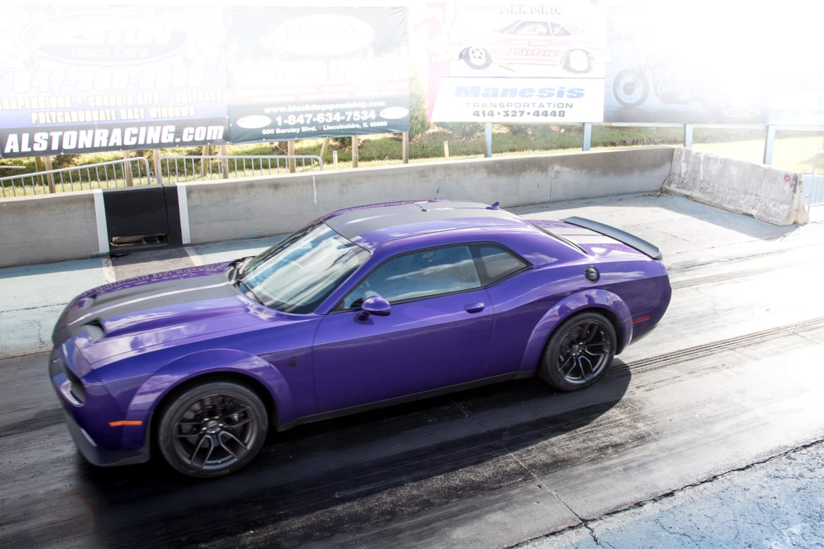 Going for 10s: Drag-Strip Testing the 2019 Dodge Challenger SRT
