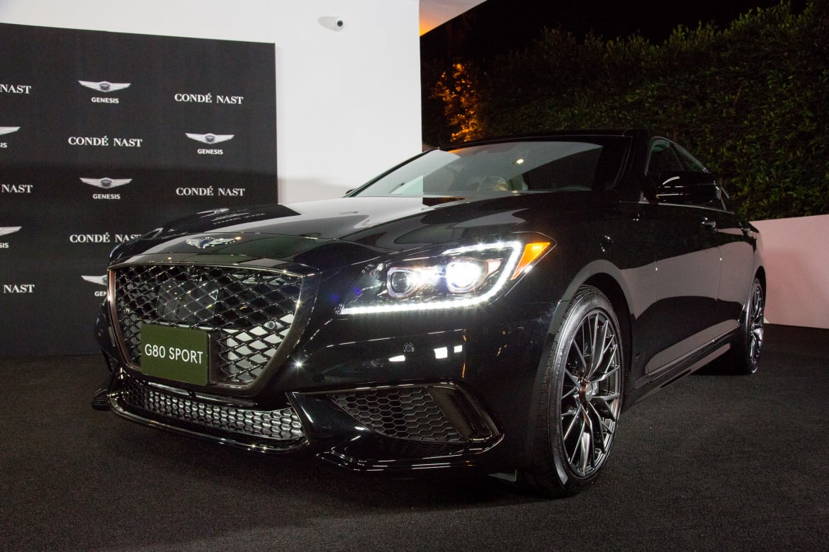 Genesis G80 2016 Meet Hyundai S Perception Of Luxury: 2018 Genesis G80 3.3T Sport Review: Photo Gallery