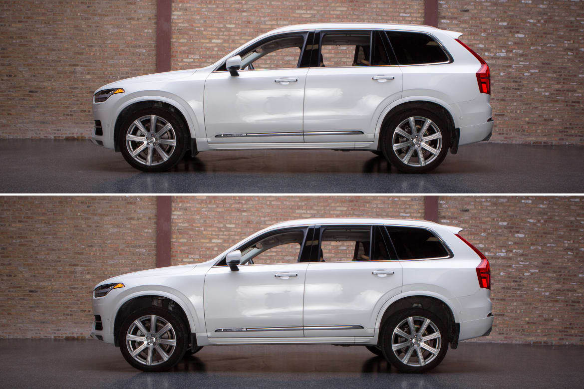 Is the Volvo XC90's Air Suspension Worth the Added Cost? | News