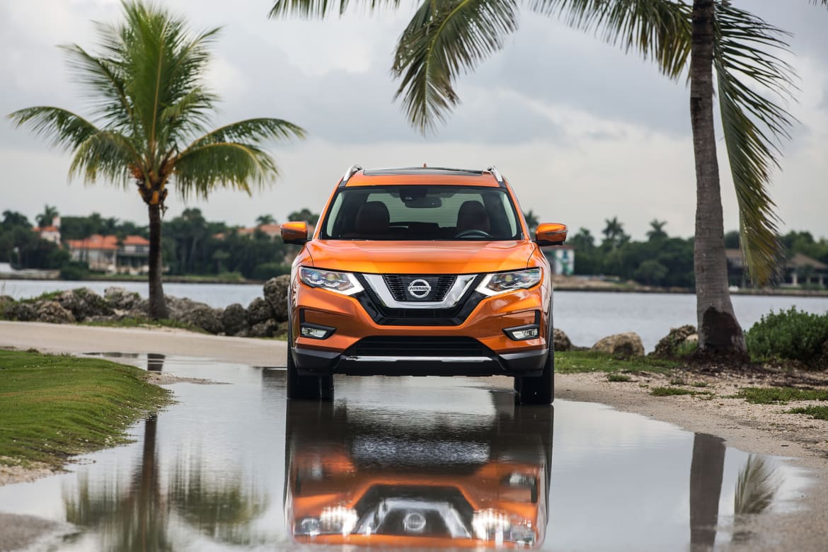 2017.5 Nissan Rogue >> 2017 5 Nissan Rogue What S Changed News Cars Com