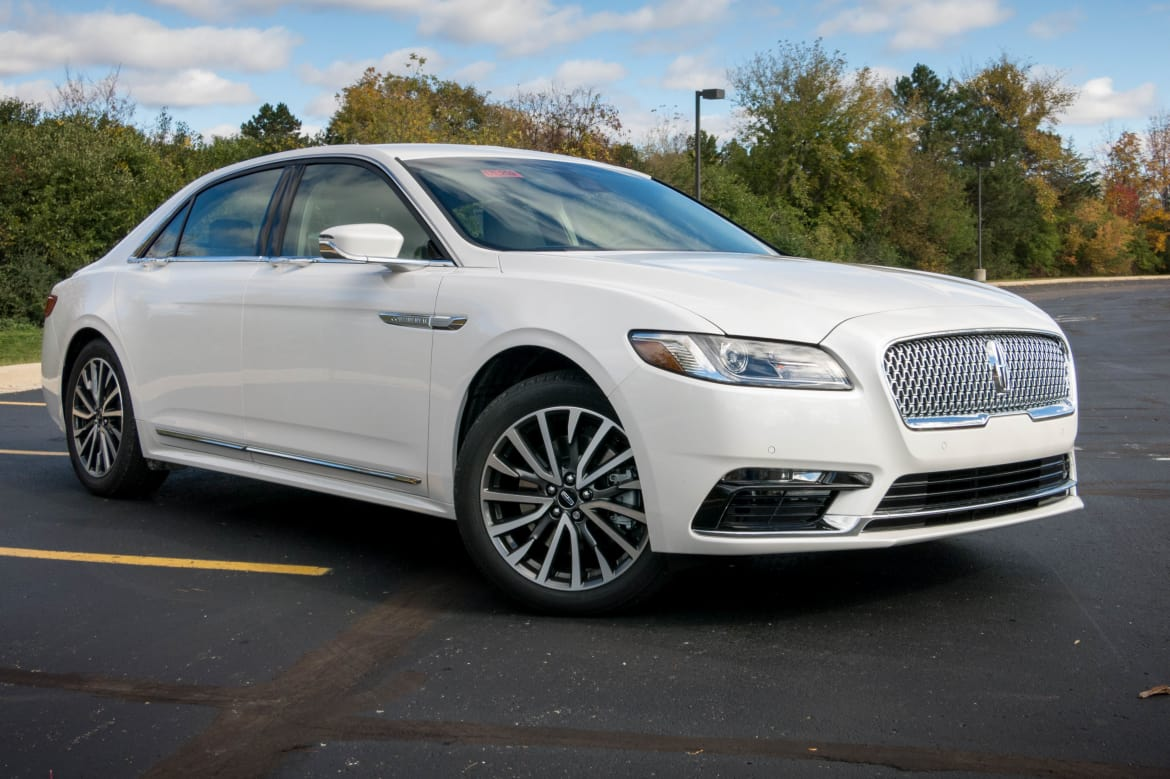 Cars Com Reviews >> 2017 Lincoln Continental Review Quick Spin News Cars Com