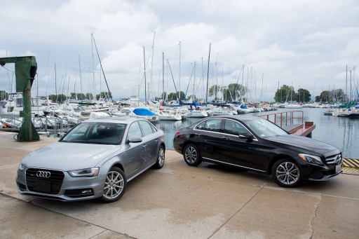 Mercedes Benz C Class Vs Audi A4 Compact Luxury Head To Head