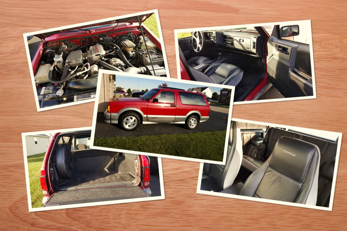 Look What We Found: 1992 GMC Typhoon