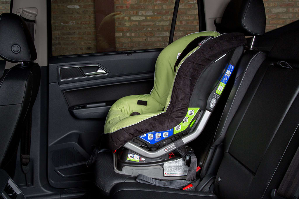 Cars With 3 Rows Of Seats >> Which 3 Row Suvs Fit Car Seats Best News Cars Com
