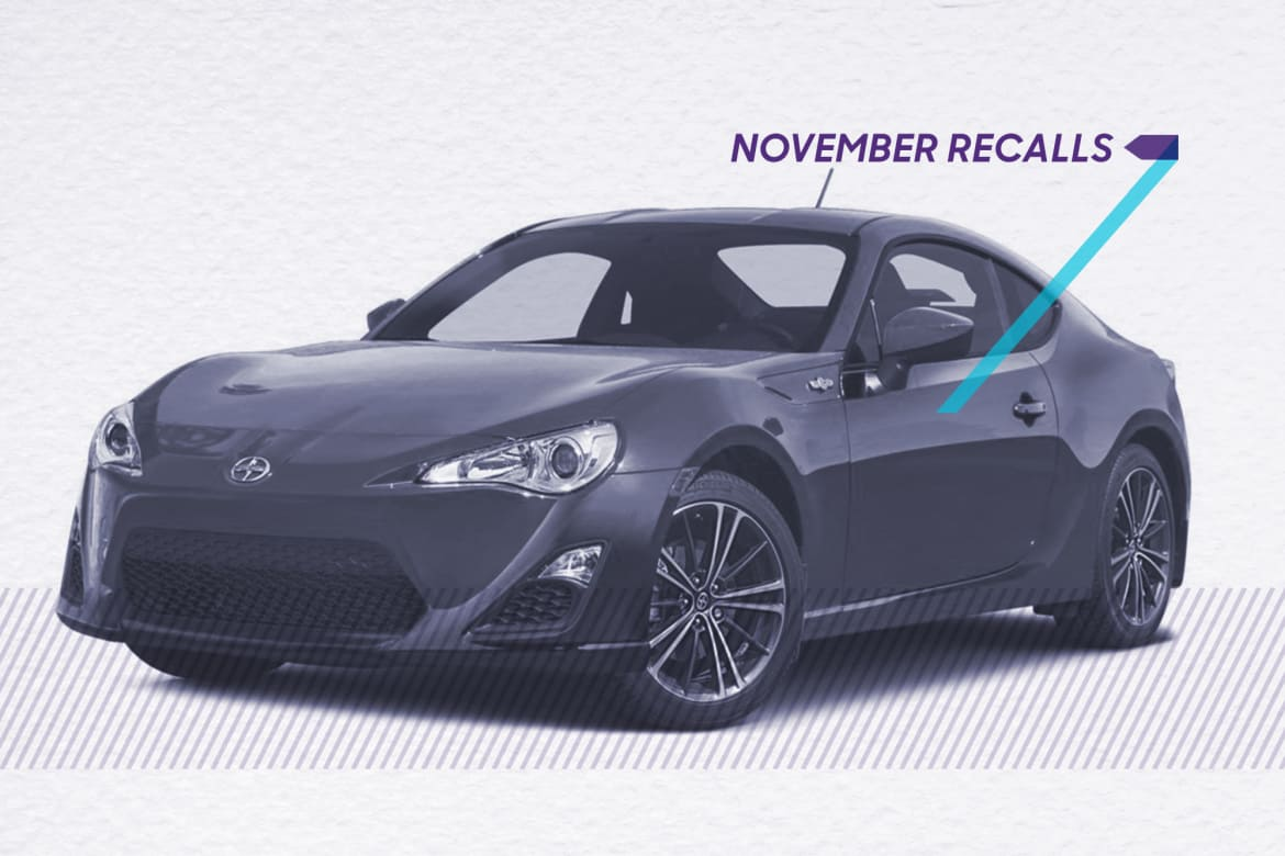Recall Recap: The 5 Biggest Recalls in November