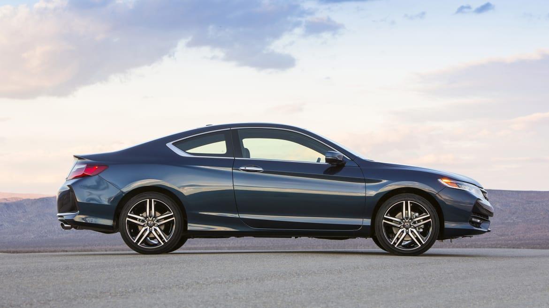 2016 honda accord coupe v6 manual review