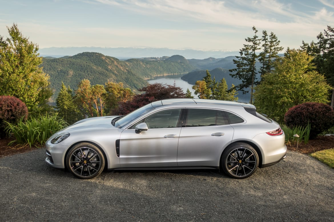 2018 Porsche Panamera Sport Turismo Review First Drive