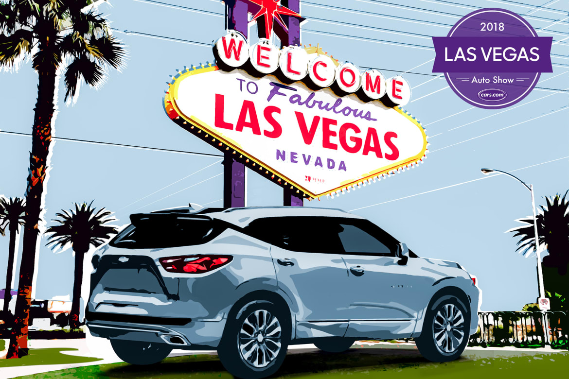 Chevy Las Vegas >> 2018 Las Vegas Auto Show Chevy Blazer Tops 5 Things You Can T Miss