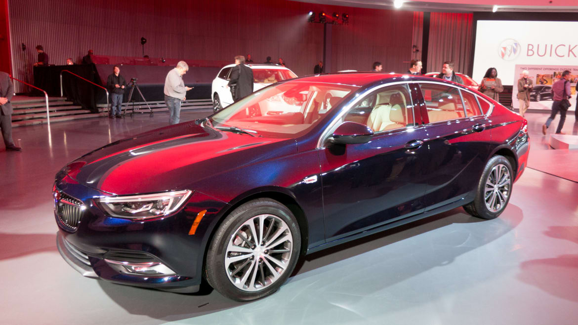 New Buick Regal GS Trades Turbo 4-Cylinder for V-6   News ...