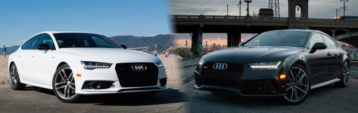 Audi A7 Versus Rs 7 What You Get For The Extra Money News Cars Com