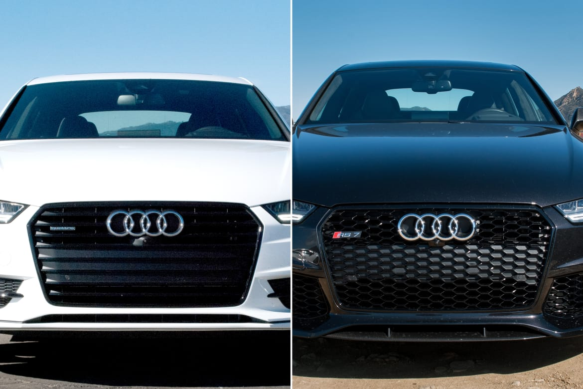 Audi A7 Versus Rs 7 What You Get For The Extra Money News Carscom