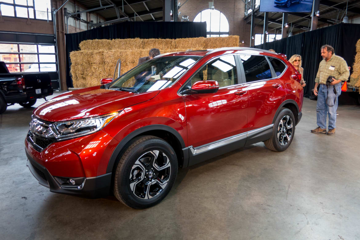 Honda CR-V Prices Go Up for 2017