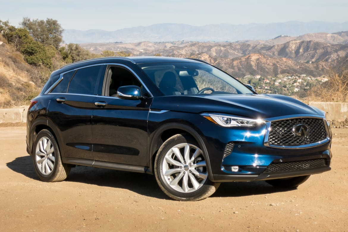 2019 Infiniti Qx50 Beauty Is Skin Deep News Cars Com