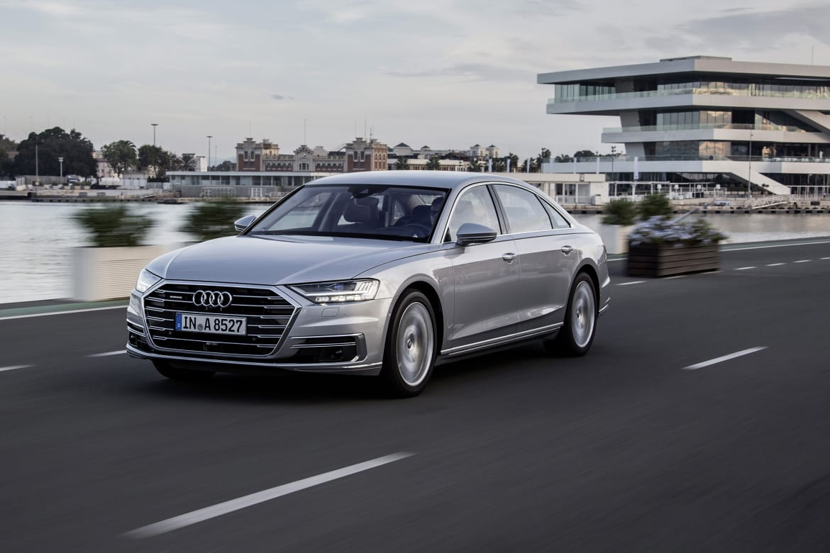 Here's the Rub: New Audi A8 Can Massage Your Feet But Not Drive