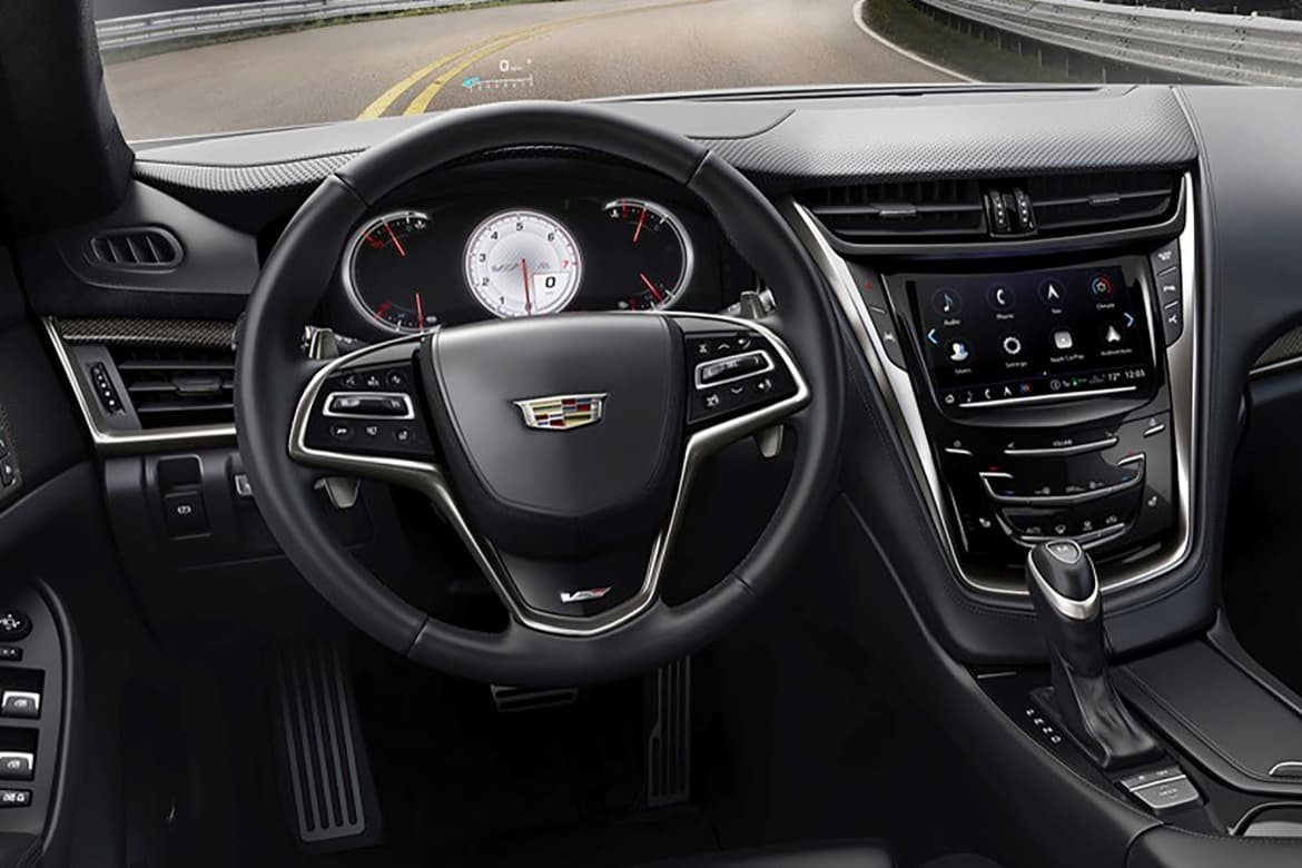 Cue the Revision: Cadillac Revamps Infotainment System   News   Cars com